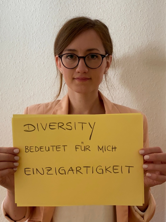 Katharina Wilhelm, Persönliche Referentin der Prorektorin für Wissenschaftlichen Nachwuchs und Diversity