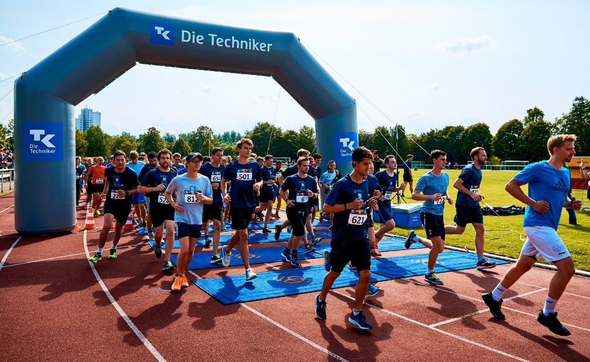 Start des Campus Run 2019