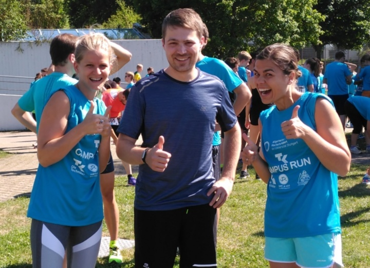 Top motiviert: Lydia, Theo und Tina (c)