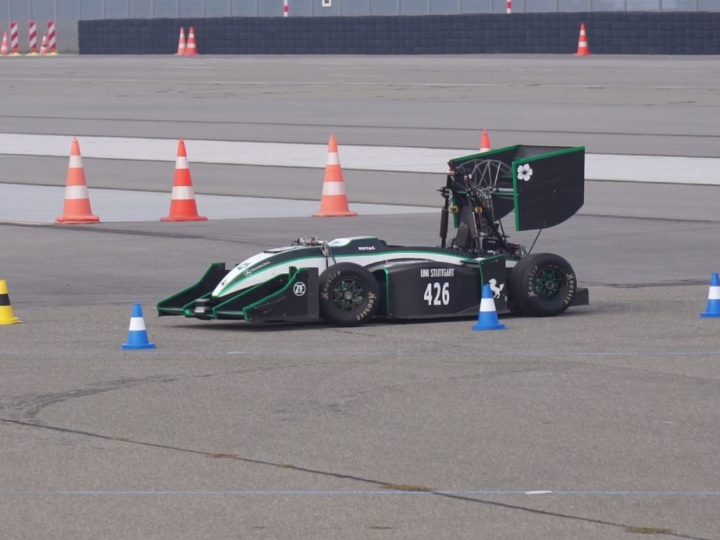 The GreenTeam will present their race car to the public in April. (c) GreenTeam