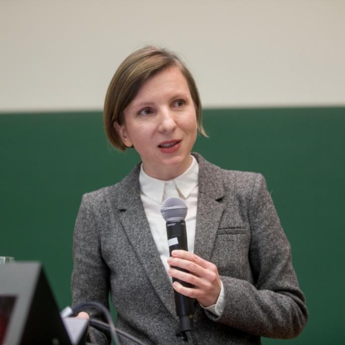 Preisträgerin Dr. Magdalena Nieslony (Fakultät 9)