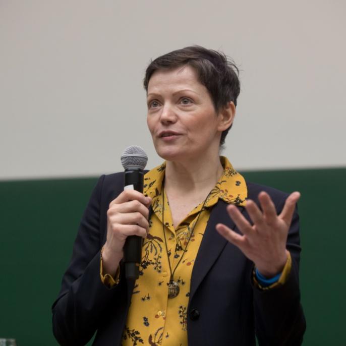 Preisträgerin Prof. Cathleen Kantner (Fakultät 10)