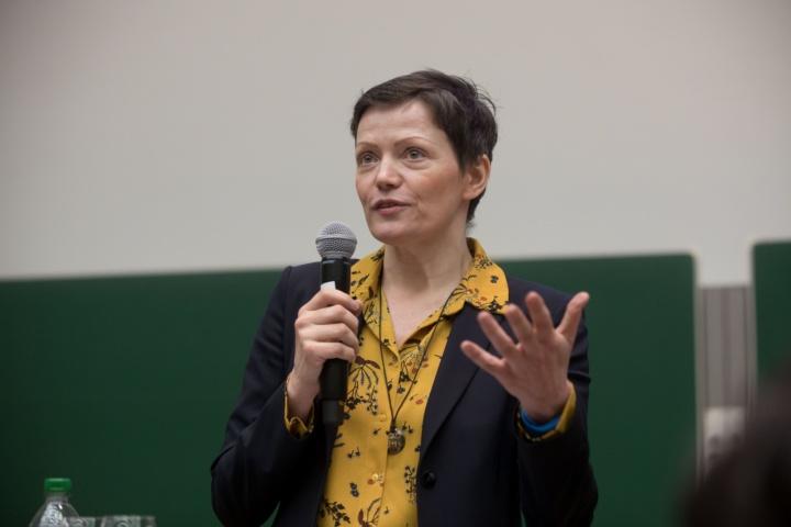 Preisträgerin Prof. Cathleen Kantner (Fakultät 10) (c)