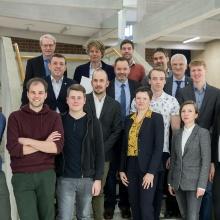Die Preisträgerinnen und Preisträger des Forschungstags 2018.