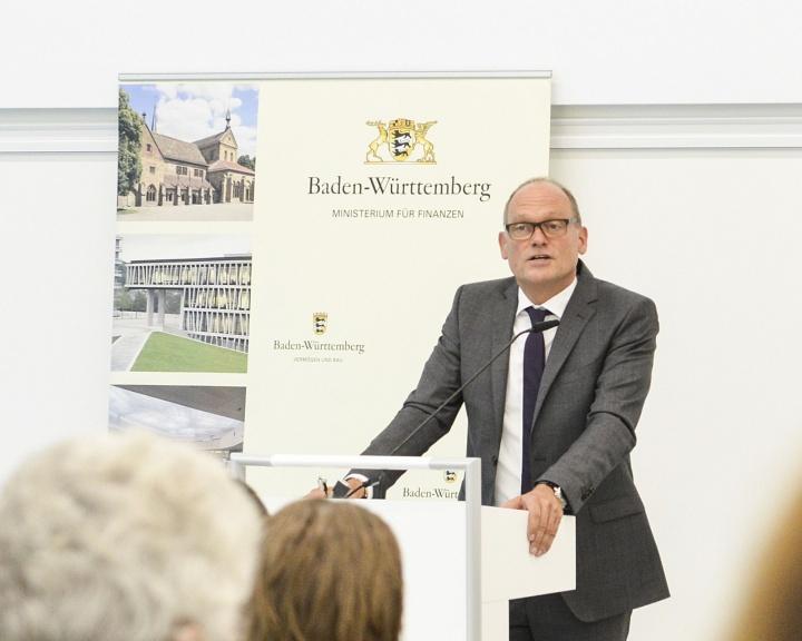 Hans Reiter (Ministerium für Wissenschaft, Forschung, und Kunst Baden-Württemberg) (c)  Johannes Zimmermann