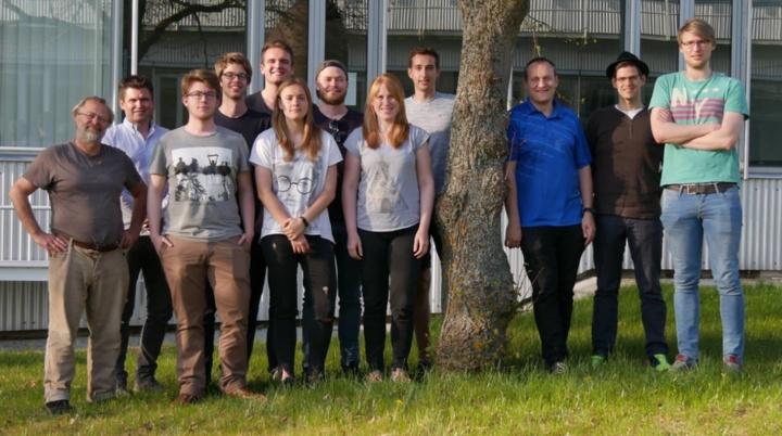 Das iGEM Team 2018. (c) iGEM