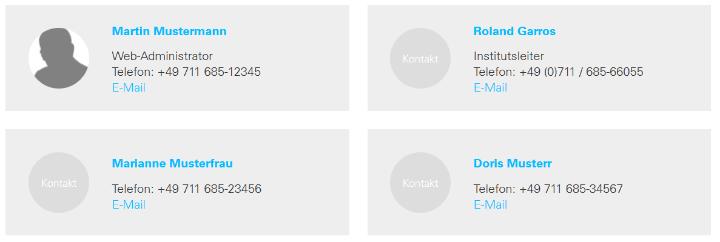 Zweispaltige Darstellung der Mitarbeiterliste in der Desktop-Ansicht (Screenshot) (c)