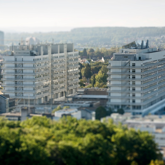 Der Campus des Universitätsstandorts Vaihingen
