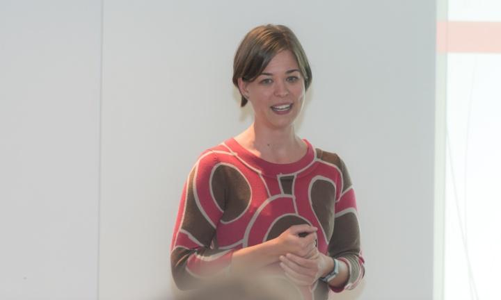Dr. Frauke Bode ist die Ansprechpartnerin der Studienstiftung für den Hochschulstandort Stuttgart. (c)