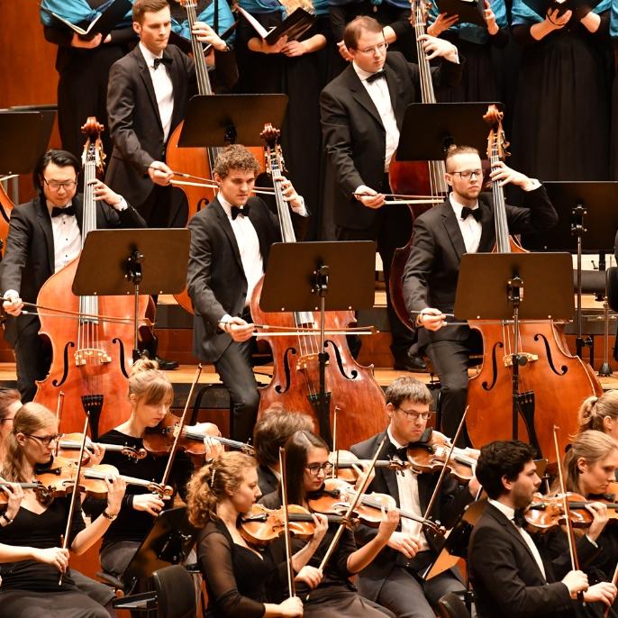 Orchester der Universität Stuttgart - Streicher