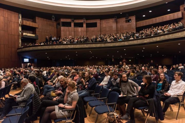 Das Konzert in der Liederhalle war gut besucht. (c) Kovalenko