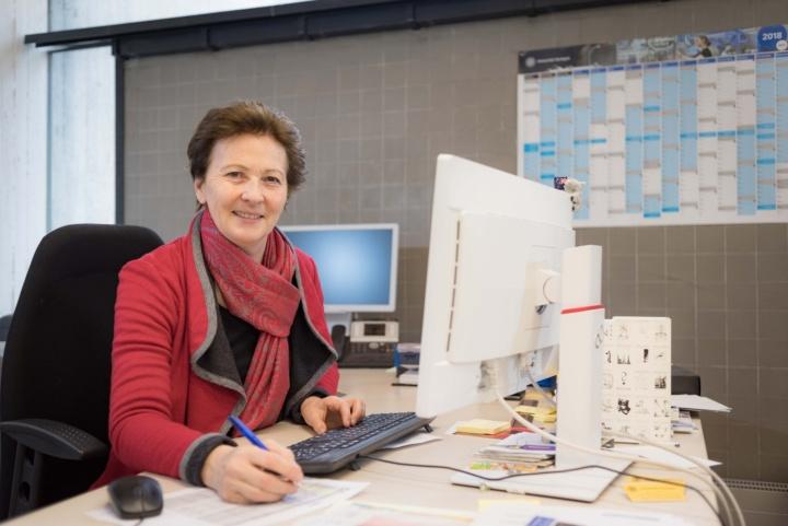 Für ihr Engagement wurde Veronika Stoertzenbach 2008 die Ehrenmedaille der Universität Stuttgart verliehen.  (c) Kovalenko