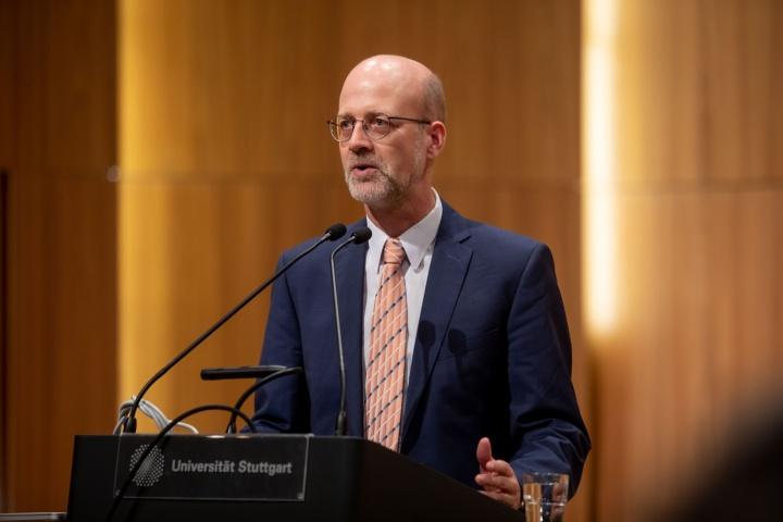 Prof. Dr. Bernhard Keimer, Vorsitzender des Universitätsrats