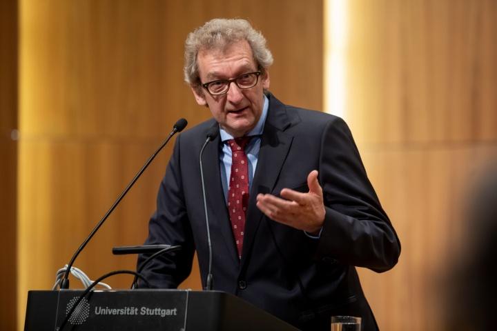 Dr. Johannes Rothmund, Vertreter des Akademischen Mittelbaus. (c) Regenscheit