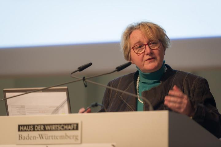 Zu Gast: Wissenschaftsministerin Theresia Bauer… (c) Kovalenko