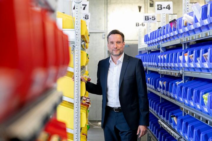 Prof. Robert Schulz ist der neue Leiter des Instituts für Fördertechnik und Logistik. (c)