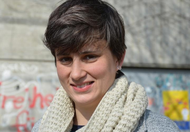 Die Französin Dr. Celine Coutrix untersucht mit Simulationen und Visualisierungen, wo interaktive Veränderungen in der Formgebung sinnvoll sind. (c) Roeder