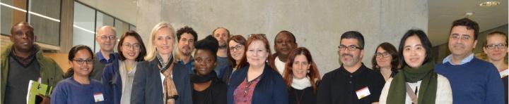 15 internationale Journalisten besuchten auf einer DAAD-Pressereise auch ARENA2036 und das Betriebswirtschaftliche Institut der Universität Stuttgart.  (c) Roeder