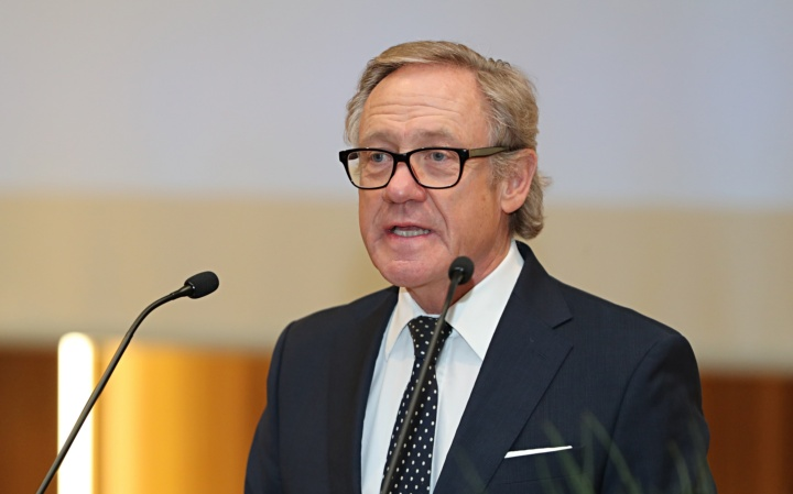 Prof. Michael-Jörg Oesterle, Dekan der Fakultät Wirtschafts- und Sozialwissenschaften. (c) SBTH / Franziska Kraufmann