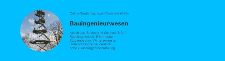 Die Webseite für den Studiengang Bauingenieurwesen wird als Prototyp von Schülerinnen und Schülern getestet. (c)