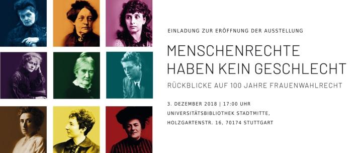 Auch das Konzipieren von Ausstellungen und Vortragsreihen gehört zum Aufgabenbereich des Service Gender Consulting.