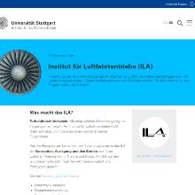 Screenshot der neuen Website