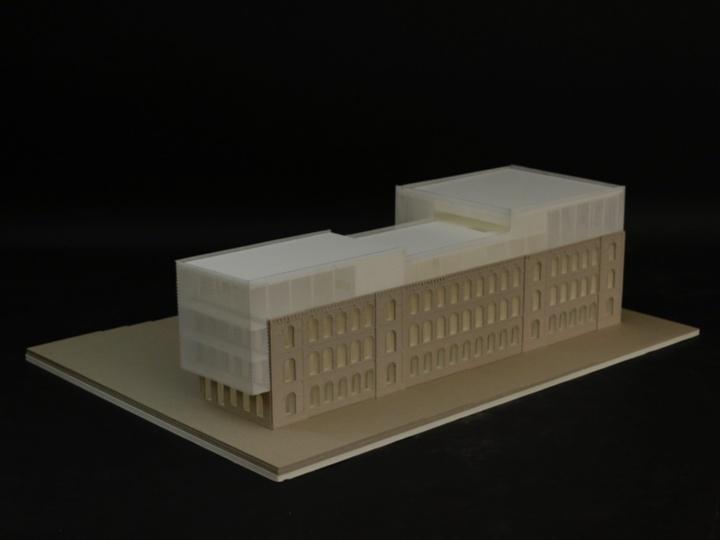Entwurf von Philip Ledwoch und Erik Wulf. (c) Institut für öffentliche Bauten und Entwerfen