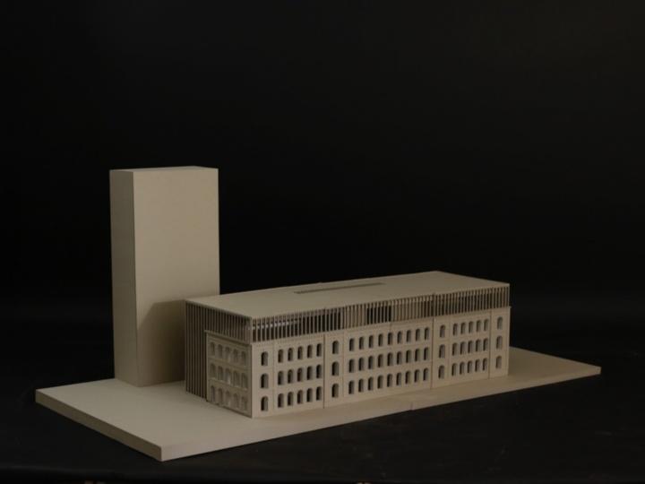 Entwurf von Kim Fohmann und Moritz Berg. (c) Institut für öffentliche Bauten und Entwerfen