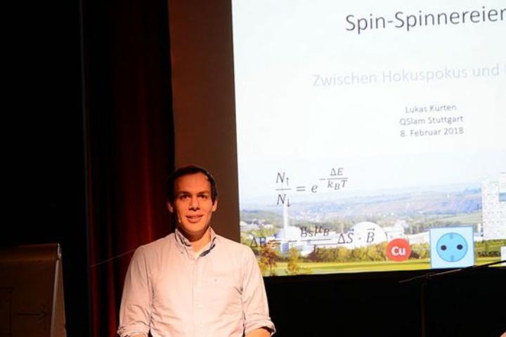 Gewinner des Abends: Lukas Kürten. (c) IQST, Stuttgart
