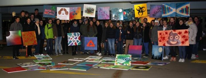 40 Schülerinnen und Schüler nahmen an der Talent-School teil. (c) Fraunhofer-Institutszentrum Stuttgart