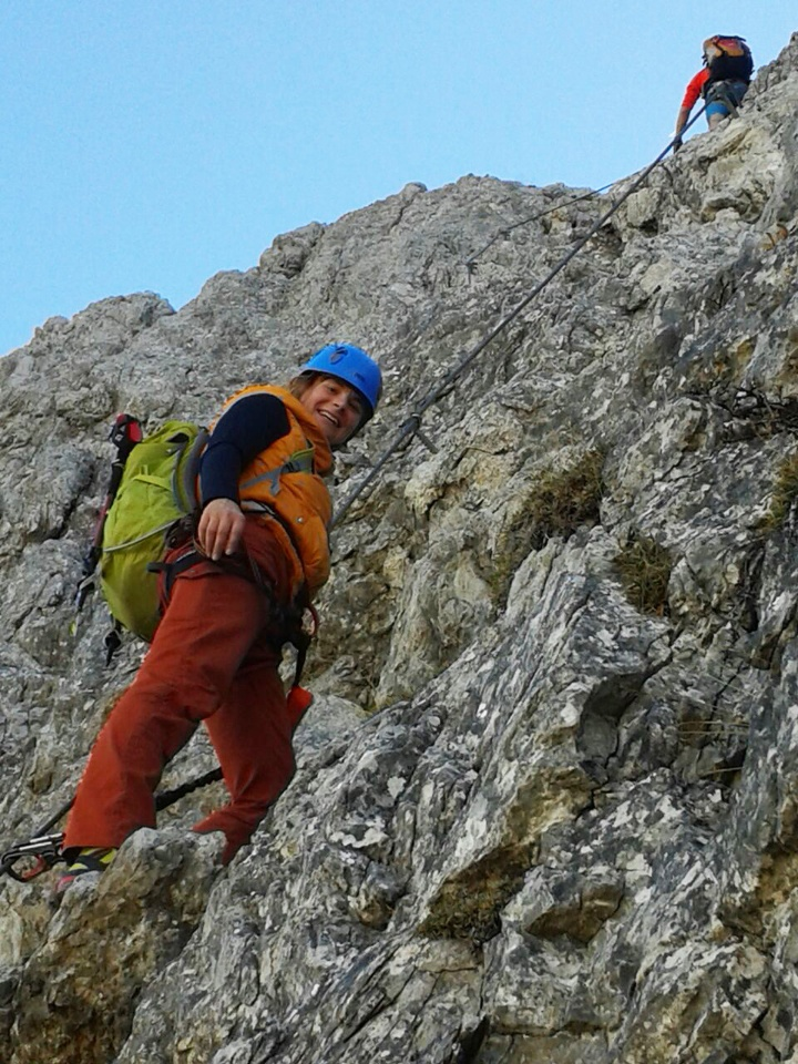 Ramona Tschüter ist aktive Kletterin und möchte diesen Sport auch für Kinder anbieten.  (c)