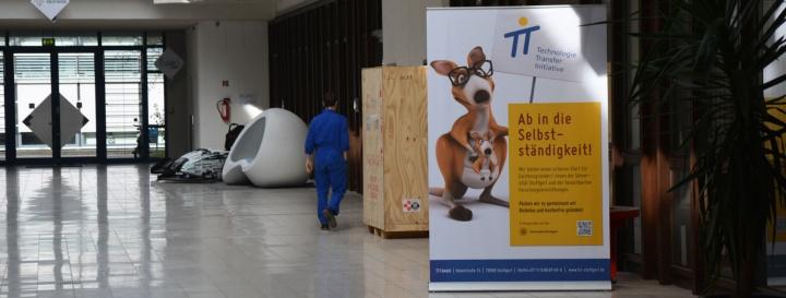 Der Flur im Startup-Gebäude der TTI GmbH. (c)