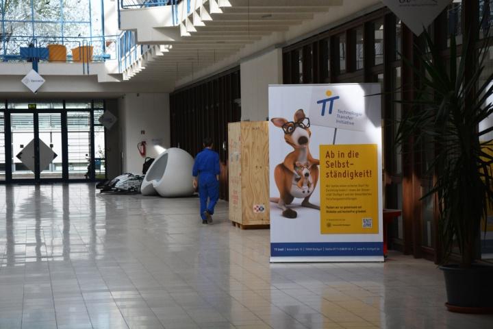 Im Technologiezentrum an der Nobel-Straße hat die TTI ihren Sitz. Hier können auch Startups Büroräume bekommen und profitieren von den kurzen Wegen. (c)