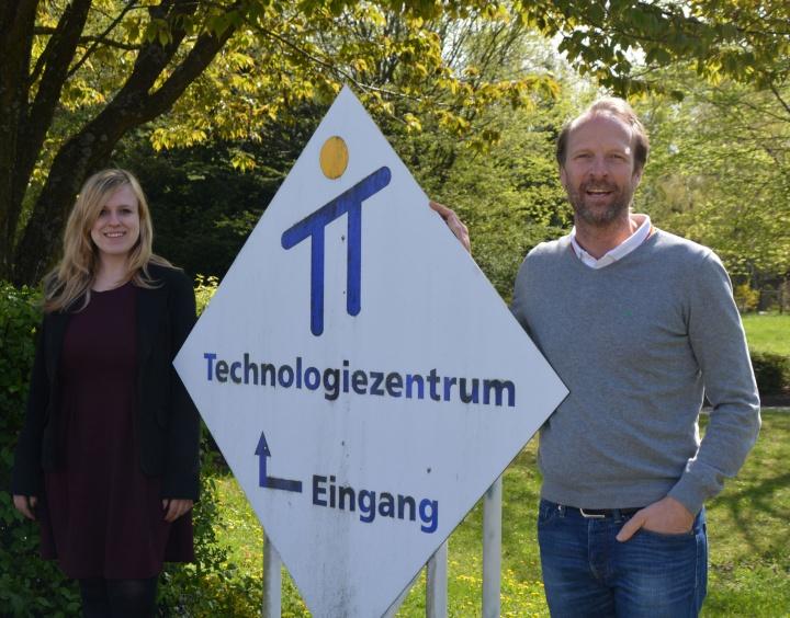 Das Marktgetting-Team: Ljubow Chaikevitch und Holger Braitmaier (c)