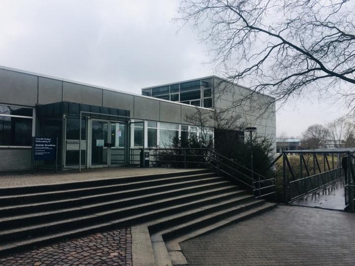 Die Räume der Stabsstelle Sicherheitswesen befinden sich im Gebäude Pfaffenwaldring 59 im Obergeschoß. (c)
