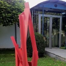 Eingang zum Gebäude