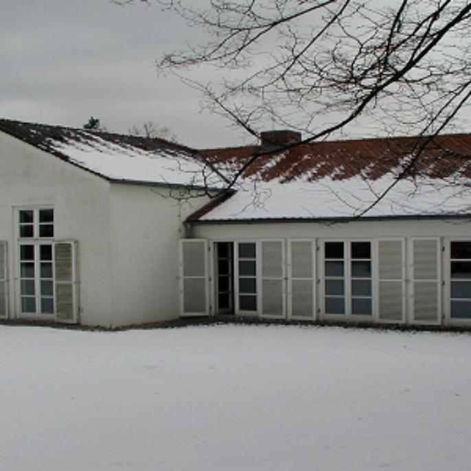 Nordansicht im Winter