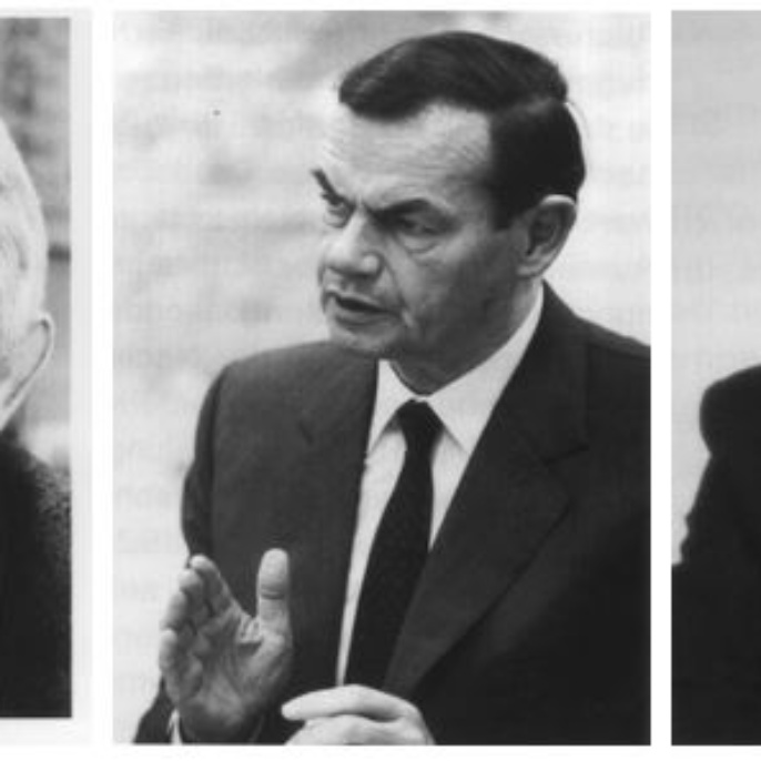 Franz Effenberger, Marcus Bierich, Prof. Jürgen Giesecke