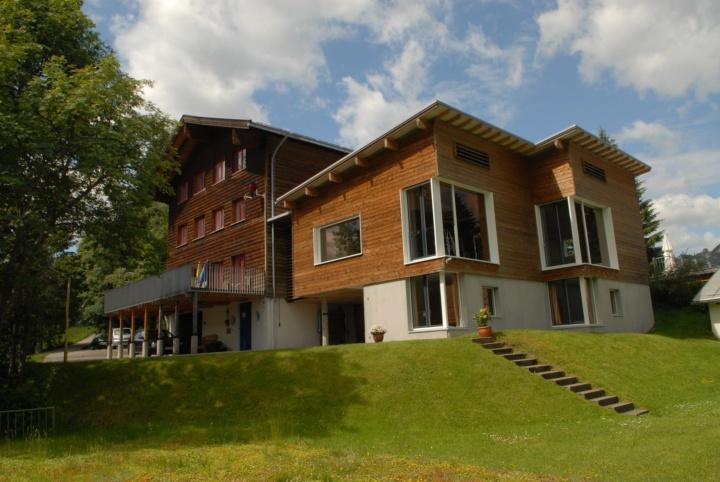 Das Söllerhaus-Kleinwalsertal im Sommer.